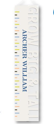 Big Tall Personalized Growth Charts by JDS Personalized Gifts