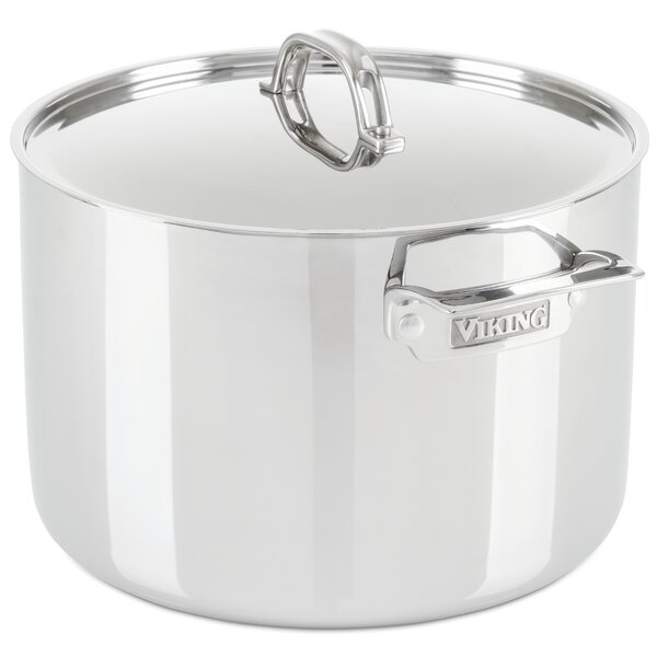 Viking 12-qt. Stock Pot with Lid by Viking