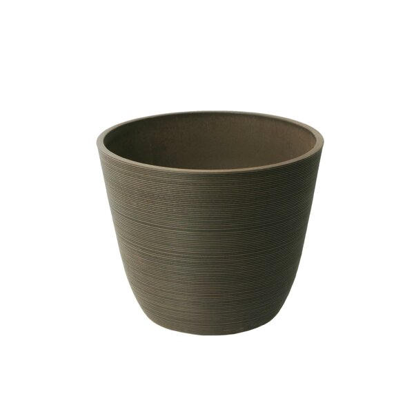 Valencia Ribbed Curve Stone Pot Planter by Algreen