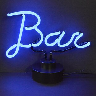 Neon bar lights wayfair business signs bar neon sign mozeypictures Image collections