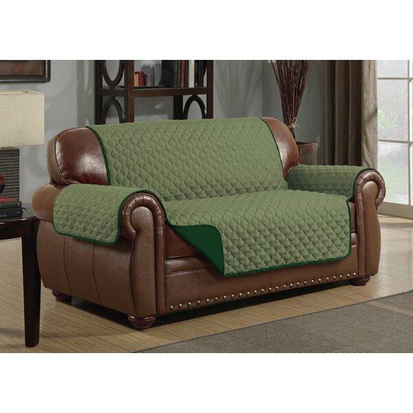 Check Price Box Cushion Loveseat Slipcover