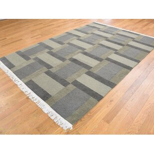 One Of A Kind Beverly Closeout Hand Knotted 6 X 8 10 Wool Brown Area Rug