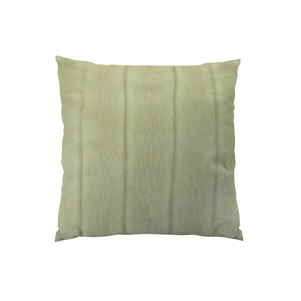 Fossen Mink Handmade Throw Pillow by Everly Quinn