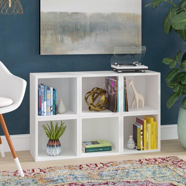 Dehart Cube Bookcase (Set Of 6) By Ebern Designs