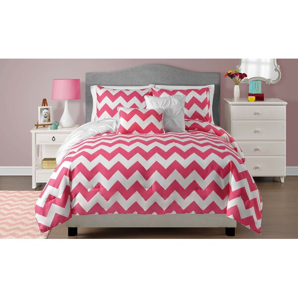 Barone Reversible Comforter Set by Harriet Bee