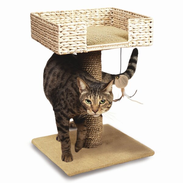 17 Hyacinth, Jute and Play Cat Perch by Ware Manufacturing