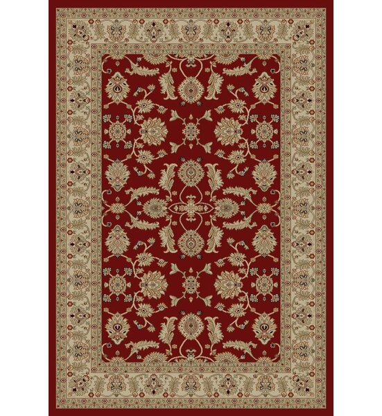 Jewel Antep Red Area Rug by Threadbind