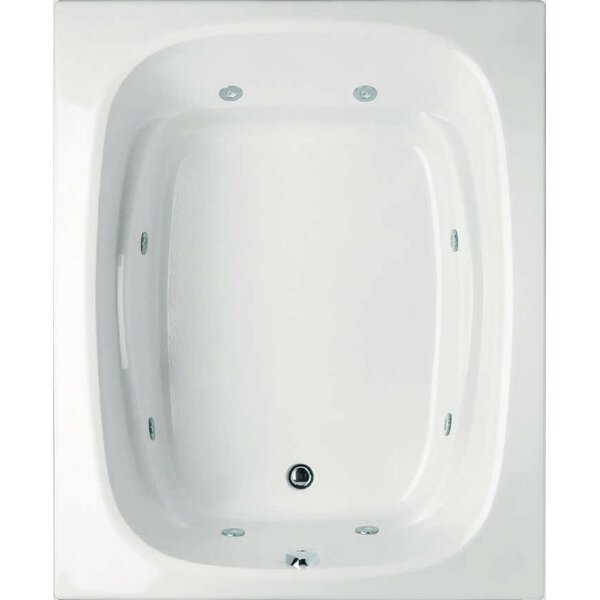 Designer Alexis 60 x 48 Whirlpool Bathtub by Hydro Systems