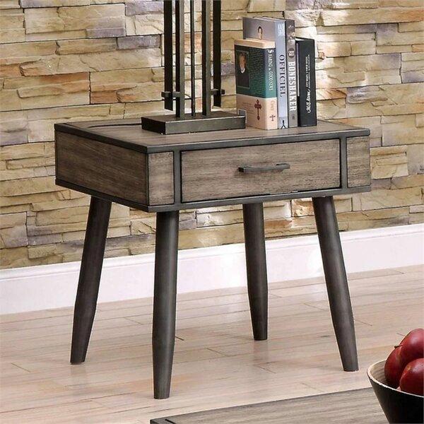 Lockesburg End Table With Storage By Corrigan Studio