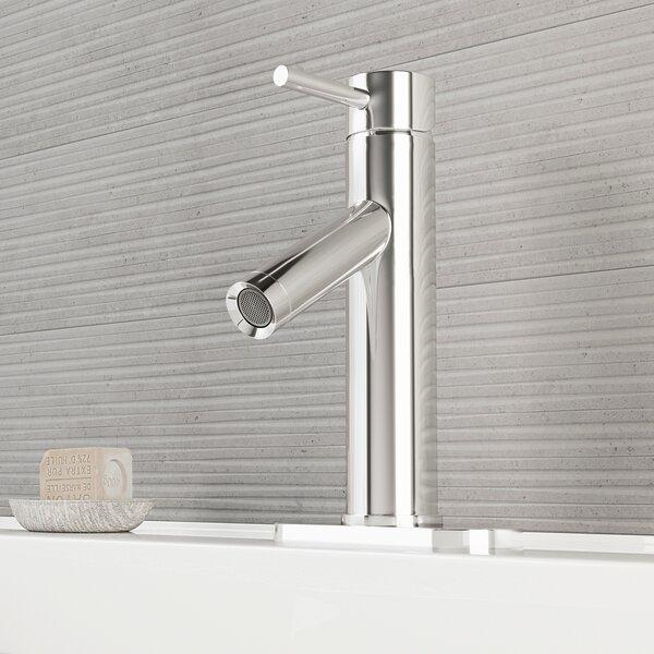 Alicia Single Lever Basin Bathroom Faucet with Deck Plate by VIGO