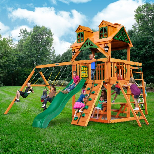 Malibu Navigator Swing Set by Gorilla Playsets
