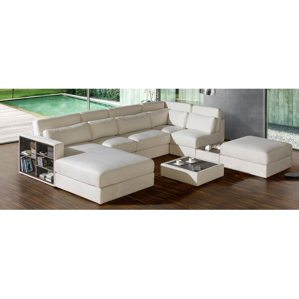Chapman Reversible Modular Sectional with Ottoman by Brayden Studio