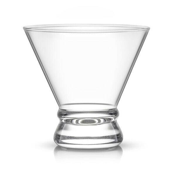 Afina Stemless Martini Glass 8 oz. Cocktail Glass (Set of 4) by JoyJolt