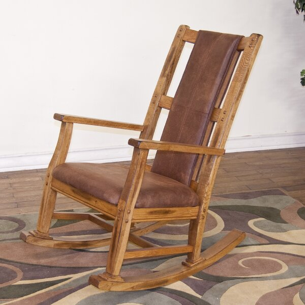 Fresno Rocking Chair by Loon Peak