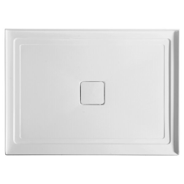 Fissure Series 48 x 36 Single Threshold Shower Base by ANZZI