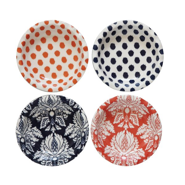 4 Piece Mini Quiche Dish Pie Pan Set by Creative Co-Op