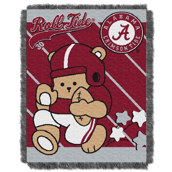 Collegiate Alabama Baby Throw by Northwest Co.