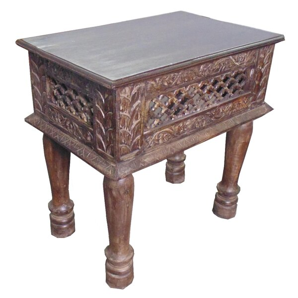 Peraza Side Table by World Menagerie