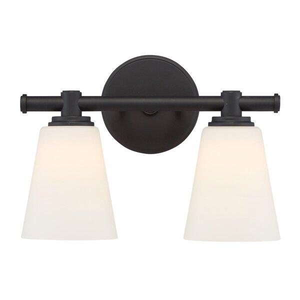 Parker 2-Light Vanity Light by Designers Fountain