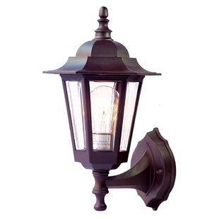 Price Check Mishra Traditional 1-Light Outdoor Sconce By August Grove