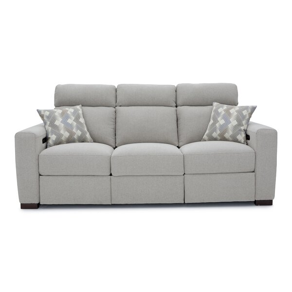 Reclining Home Theater Sofa By Ebern Designs