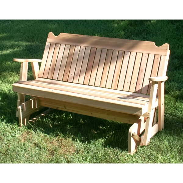Foust Glider Bench by August Grove