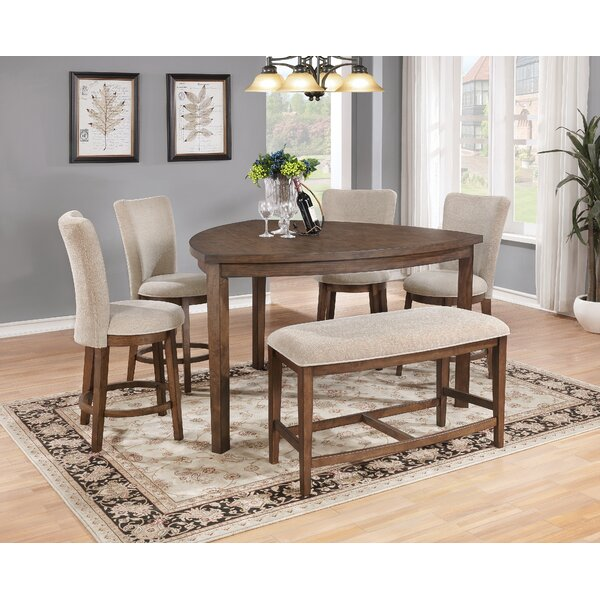 Bucknell Counter Height Dining Table by Bloomsbury Market