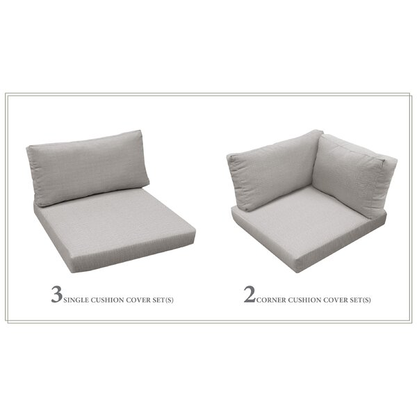 5 Piece Indoor/Outdoor Replacement Cushion Set by Highland Dunes Highland Dunes