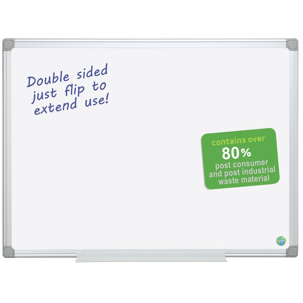 Earth Dry Erase Wall Mounted Whiteboard by Mastervision