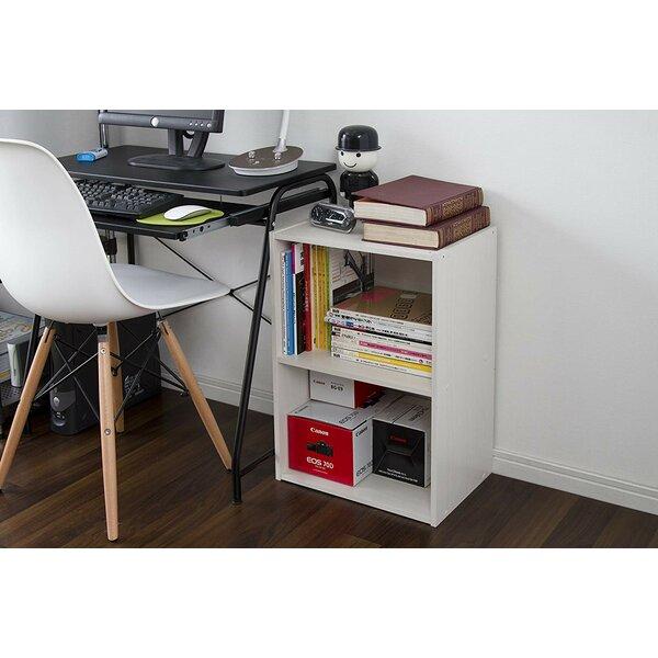 Chaia Wood Storage Standard Bookcase By Latitude Run