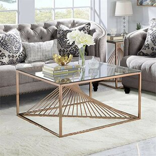 Sizer Metal Framed Coffee Table