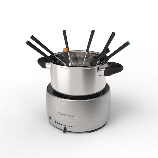 5 qt. Pot Stainless Steel Fondue Sets by Classic Cuisine