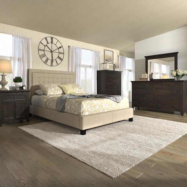 Amazing Woodside Standard Configurable Bedroom Set By Three Posts Savings