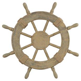 Incroyable Nautical Ship Wheel Wall Décor