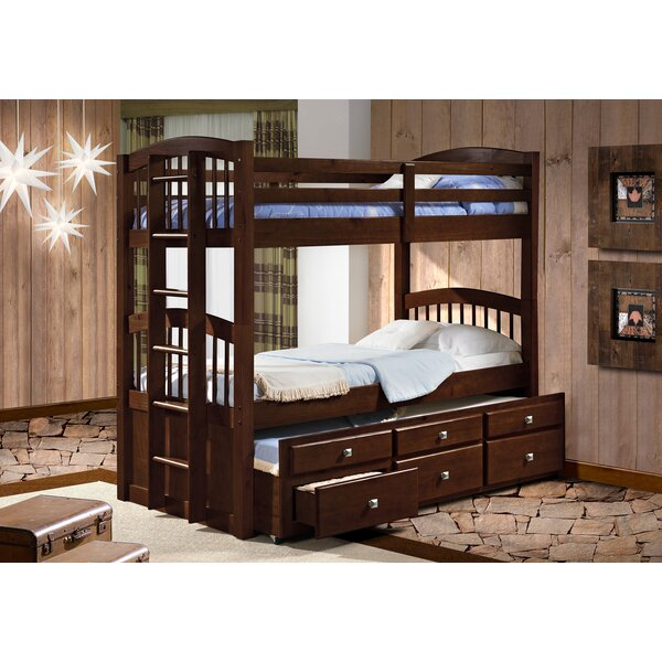 Colyer Captains Twin Over Twin Bunk Bed by Harriet Bee