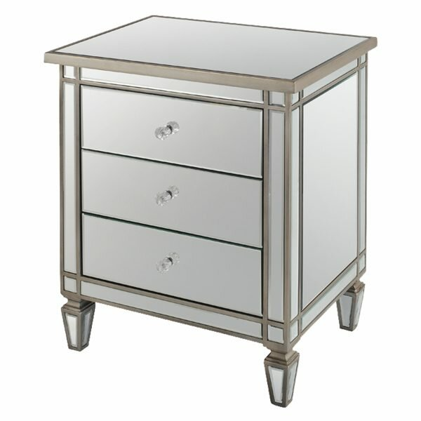 Henley 3 Drawer Nightstand by Everly Quinn