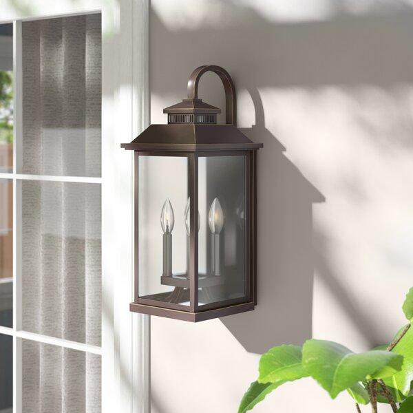 Menahan 4-Light Outdoor Wall Lantern by Alcott Hill