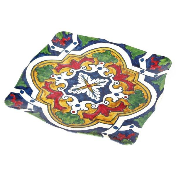 Pallini Square Melamine Platter by Encore Concepts
