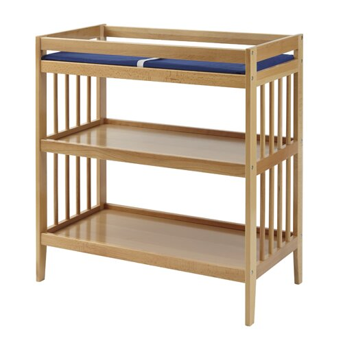 Elaina Changing Table with Pad- Dowel by Harriet Bee