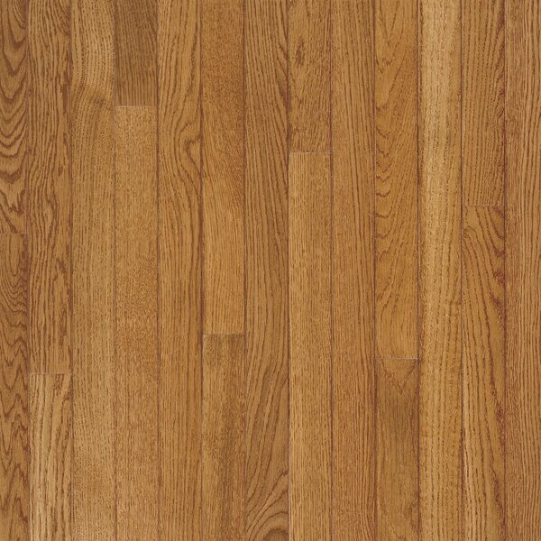 Fulton 3-1/4 Solid White Oak Hardwood Flooring in Fawn by Bruce Flooring