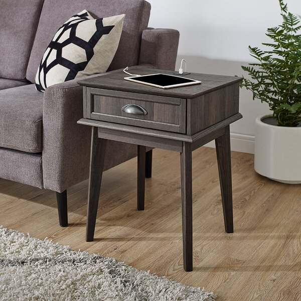 Cabral End Table With Storage By Corrigan Studio