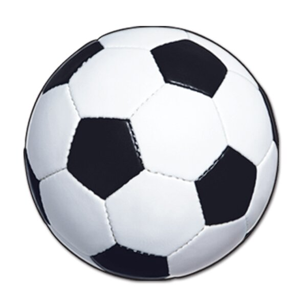Soccer Ball Standup (Set of 3) by The Beistle Company