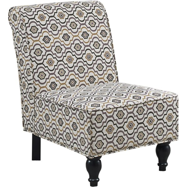 Kian Traditional Slipper Chair by Andover Mills