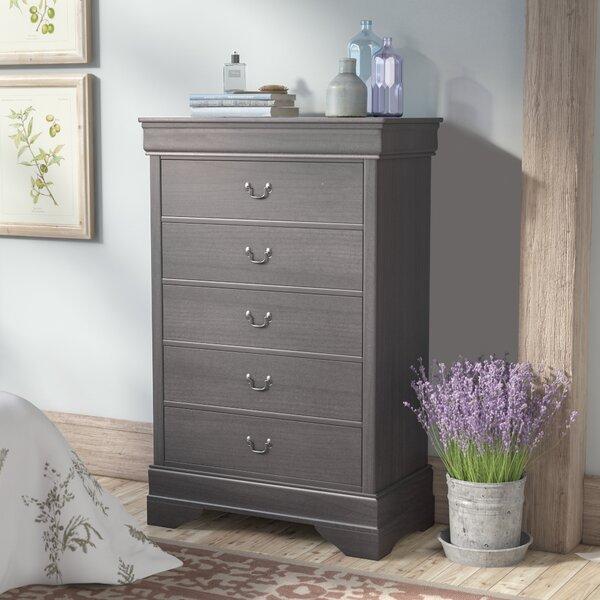 Labrecque 5 Drawer Dresser by Laurel Foundry Modern Farmhouse