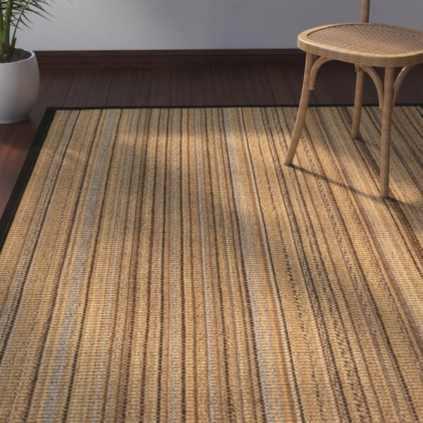 Dover Natural Fiber Sisal Plus Bonus Hand-Woven Beige Area Rug by Bay Isle Home