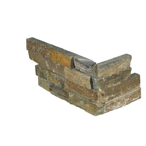 6 x 18 Quartzite Splitface Tile in Brown by MSI
