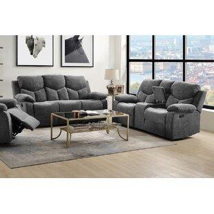 Gleneva 2 Piece Reclining Living Room Set by Ebern Designs