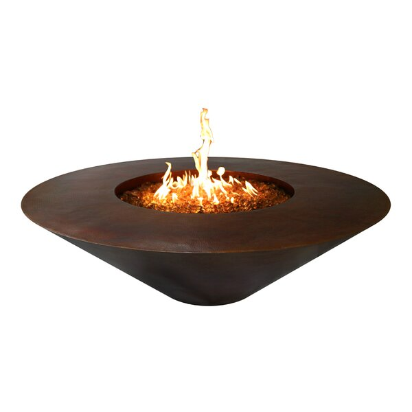 Julius Round Copper Fire Pit by The Outdoor Plus