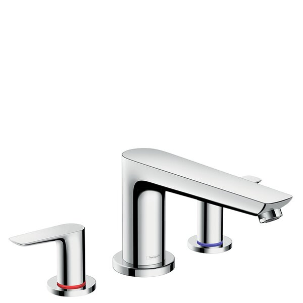Talis E Double Handle Deck Mounted Roman Tub Faucet Trim by Hansgrohe Hansgrohe