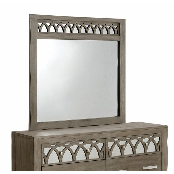 Zaragoza Rectangular Dresser Mirror by A&J Homes Studio